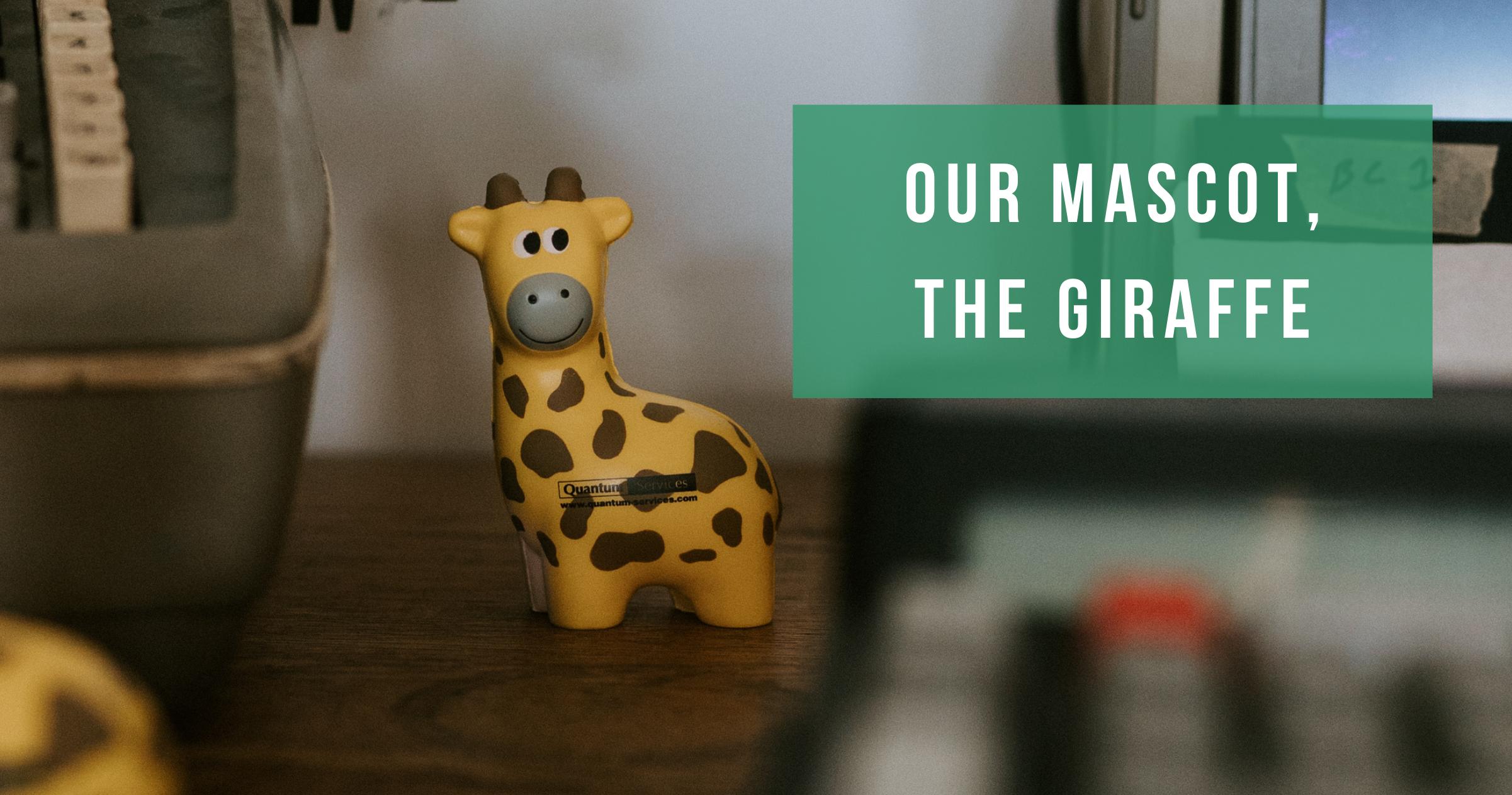 our mascot the giraffe