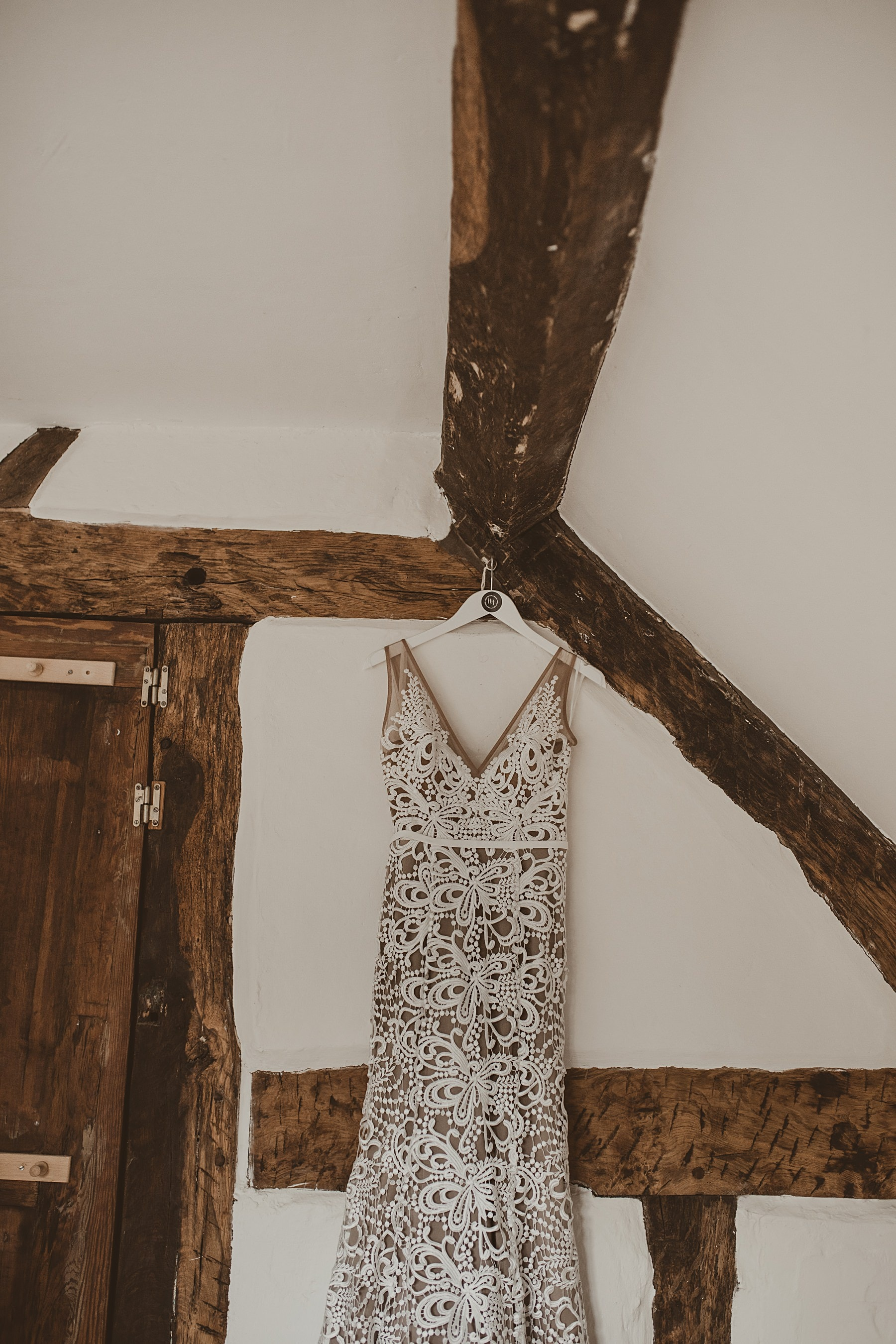 made with love dress hanging up