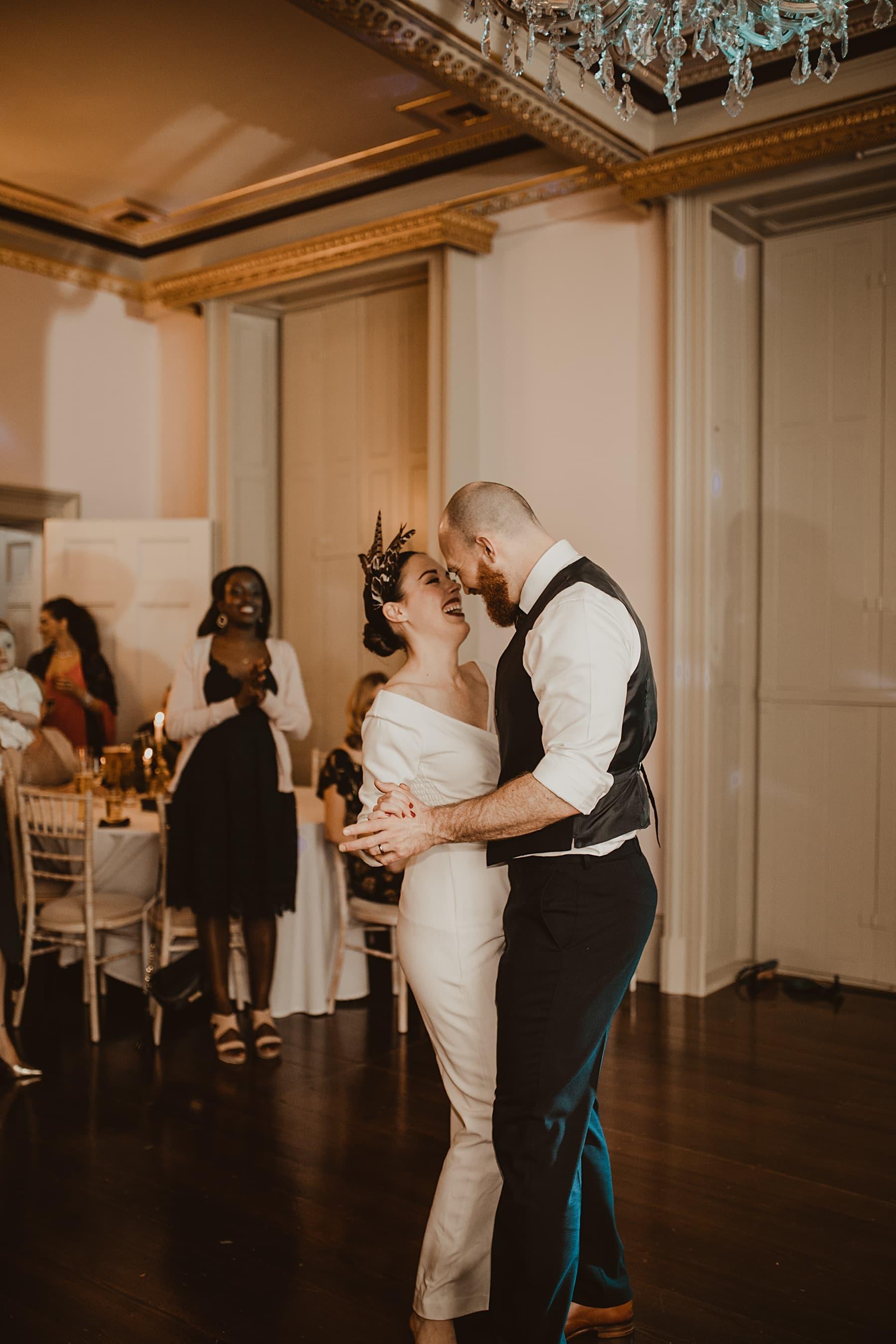 First Dance- Alternative wedding photography
