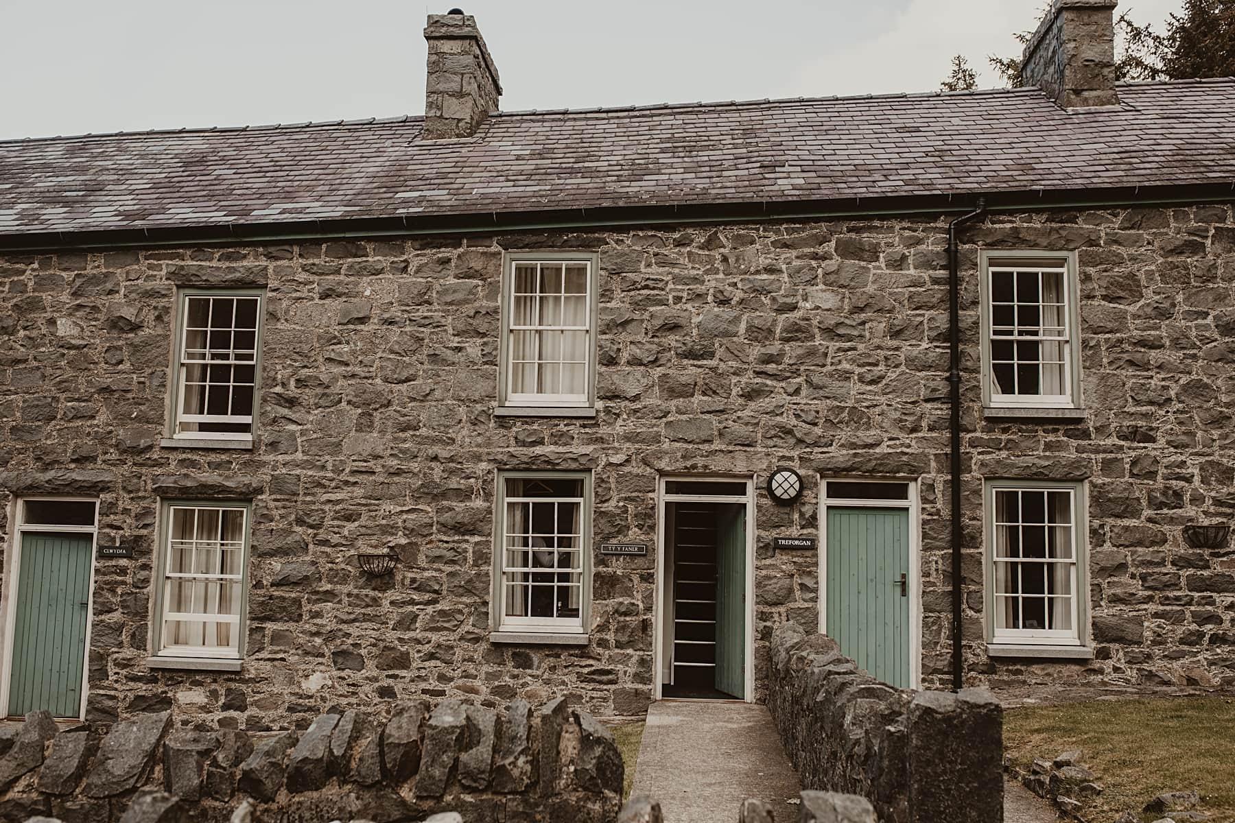 Cottages at Nant Gwrtheyrn