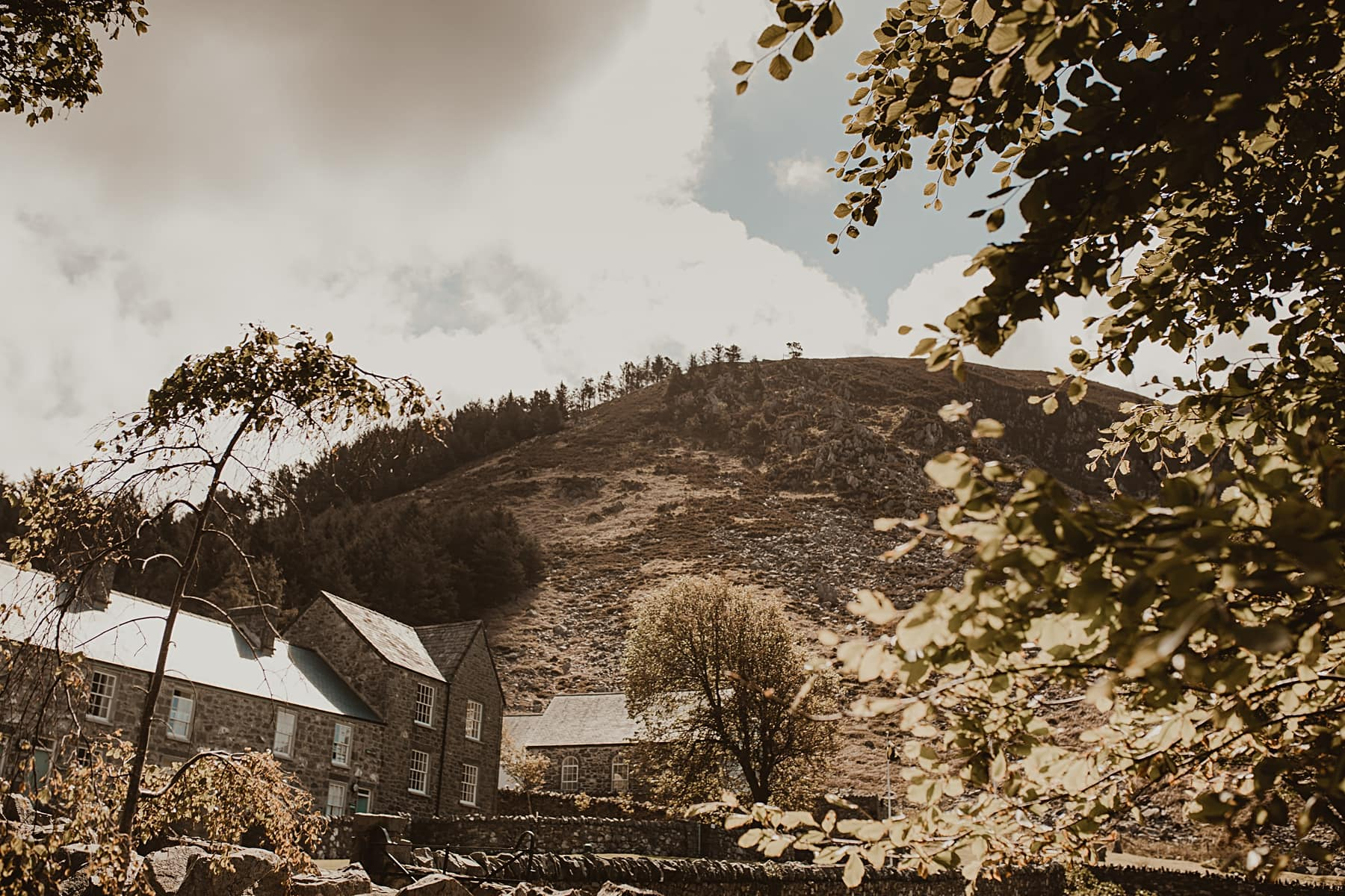 views surrounding Nant Gwrtheyrn