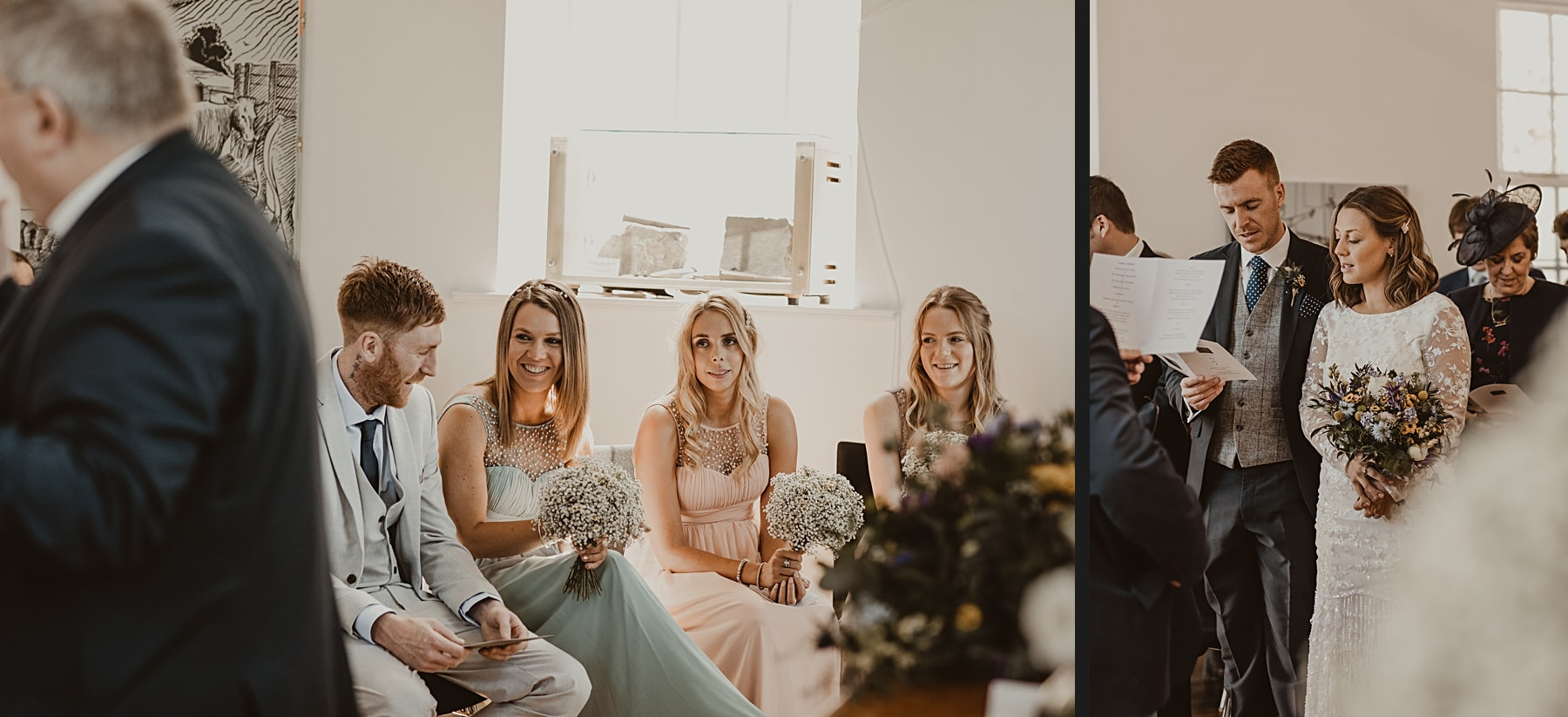 guests during ceremony