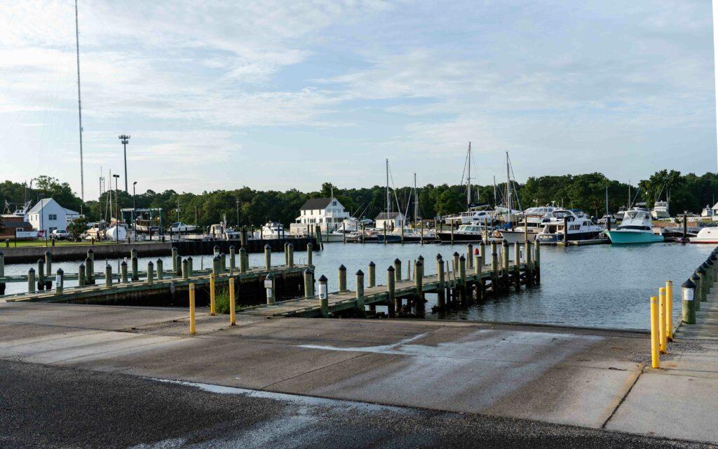 Cape Charles, VA Public Boat Ramp