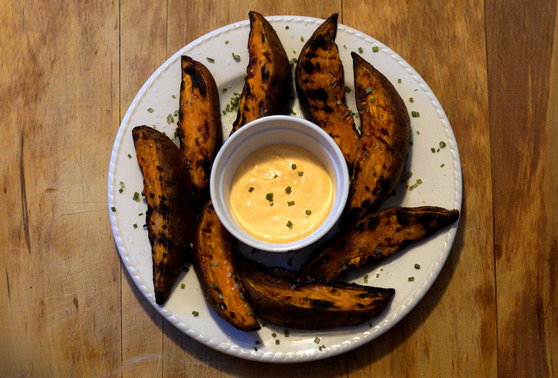 BBQ Sweet Potato Wedges