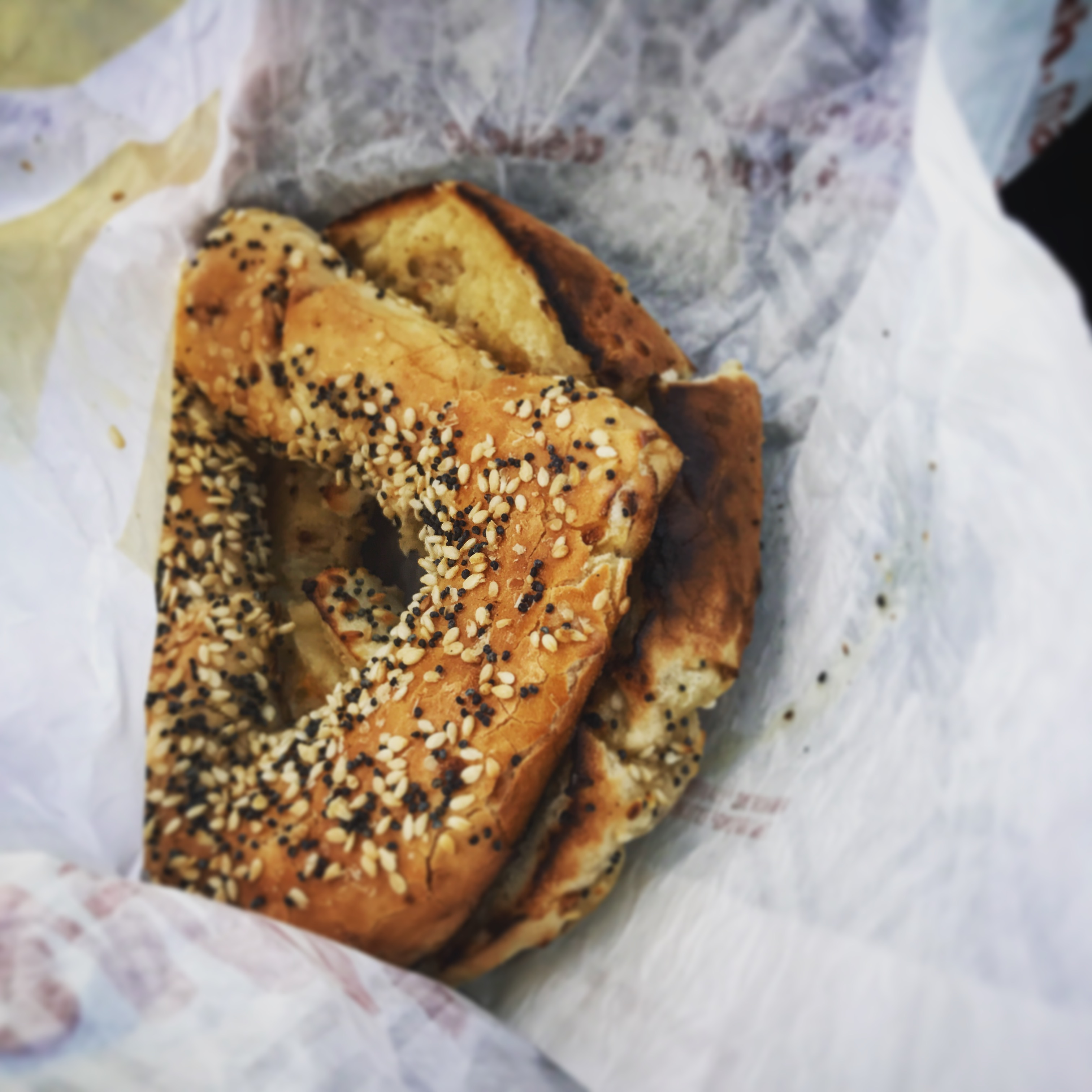 I miss bagels