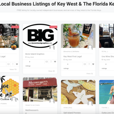 Find Local Shops in the Keys With ShopMomAndPop.com