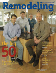 Remodeling Magazine - Big 50 Award - Jendell Construction