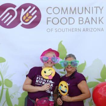 Hunger Walk 2018 Community Food Bank Banner
