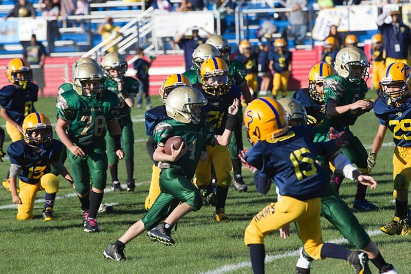 Football game event