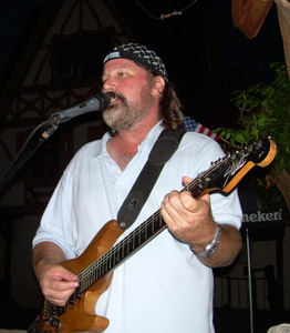 Mike Glean at Sunset Beach Tropical Grill