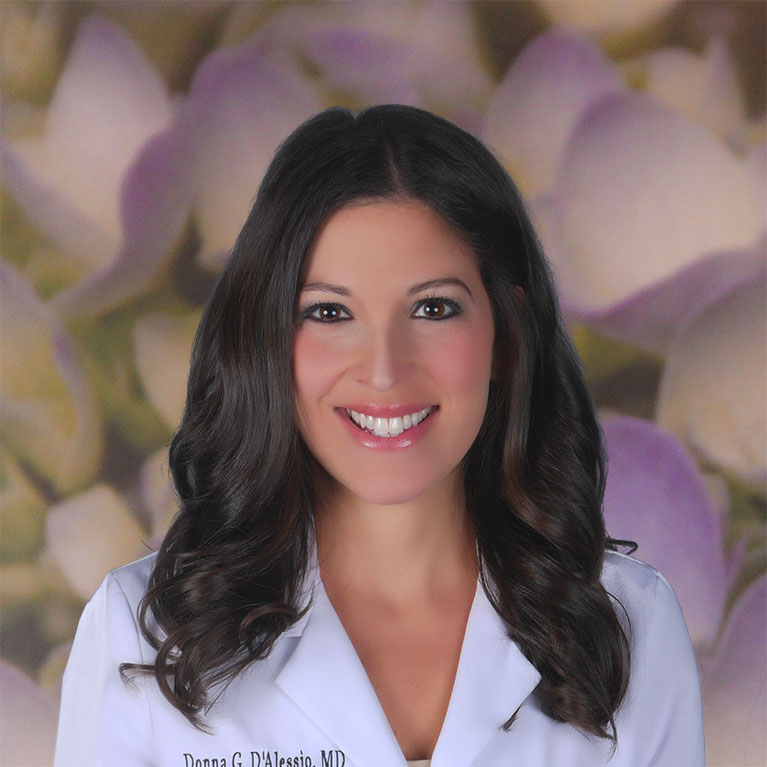 Dr. Donna D'Alessio, board-certified plastic surgeon Bellava MedAesthetics and Plastic Surgery Center in Bedford Hills, NY