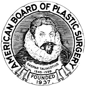 American Board of Plastic Surgery seal Bellava MedAesthetics and Plastic Surgery Center in Bedford Hills, NY