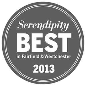 Serendipity Best in Fairfield and Westchester 2013 seal Bellava MedAesthetics and Plastic Surgery Center in Bedford Hills, NY