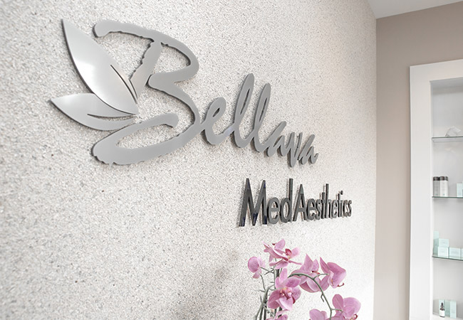 reception area Bellava MedAesthetics and Plastic Surgery Center in Bedford Hills, NY