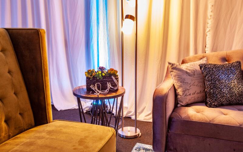 Neil Chair and Stevie Sofa