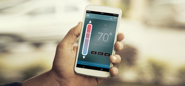 PAVS smart thermostat for app based thermostat control