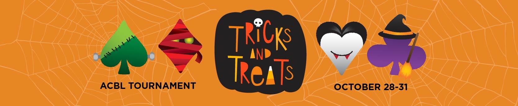 Tricks and Treats ACBL Tournament