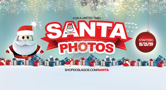 Santa Photos Now at Dos Lagos!
