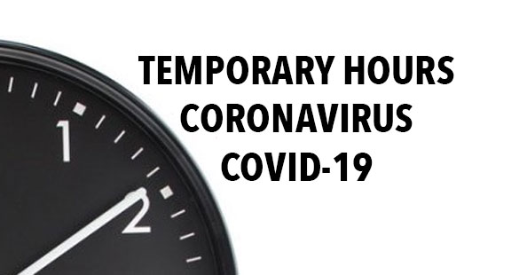 Temporary Hours COVID-19
