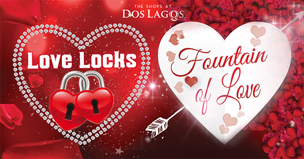 Fountain of Love and Love Lock!
