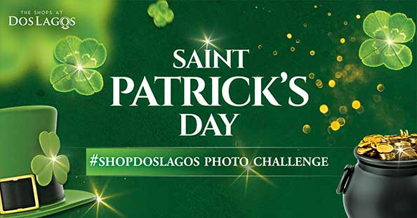 St Patrick's Day Photo Challenge & Fountain of Love