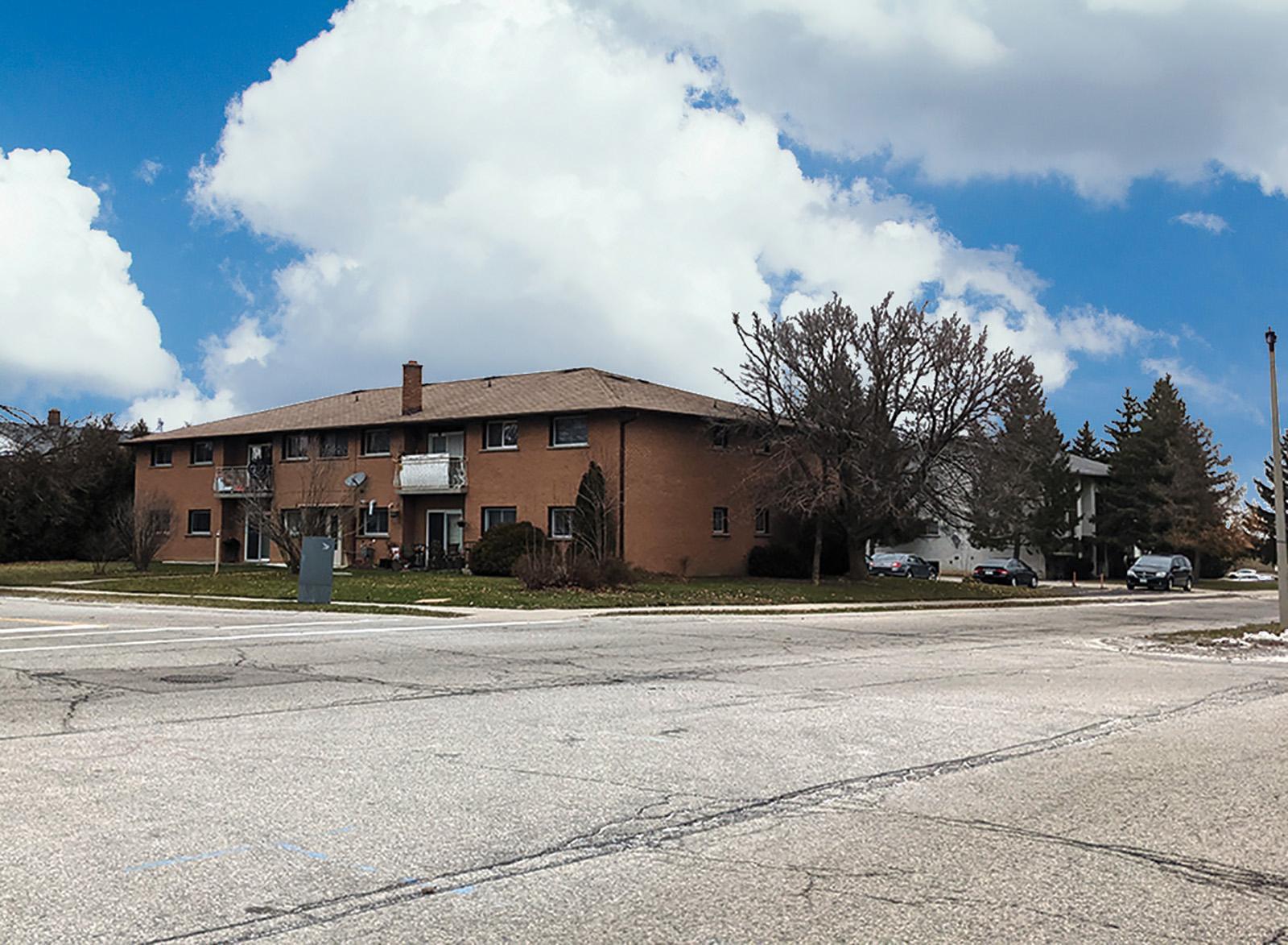 8 Unit Apartment Building – Waterloo
