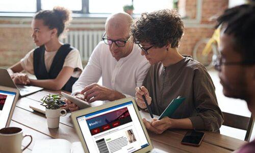 Employees using HelpSite