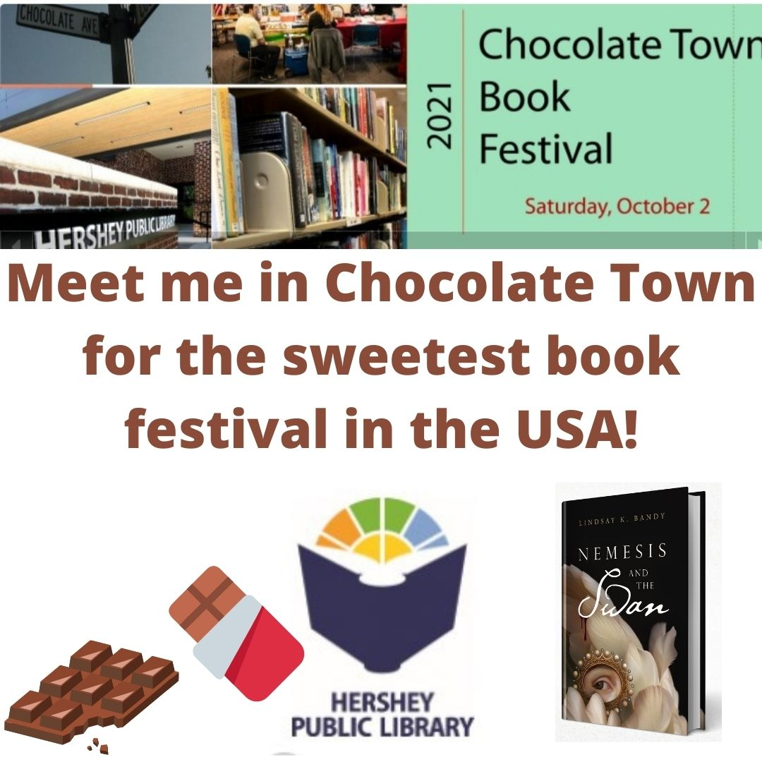 Meet me in Chocolate Town for the sweetest book festival in the USA!