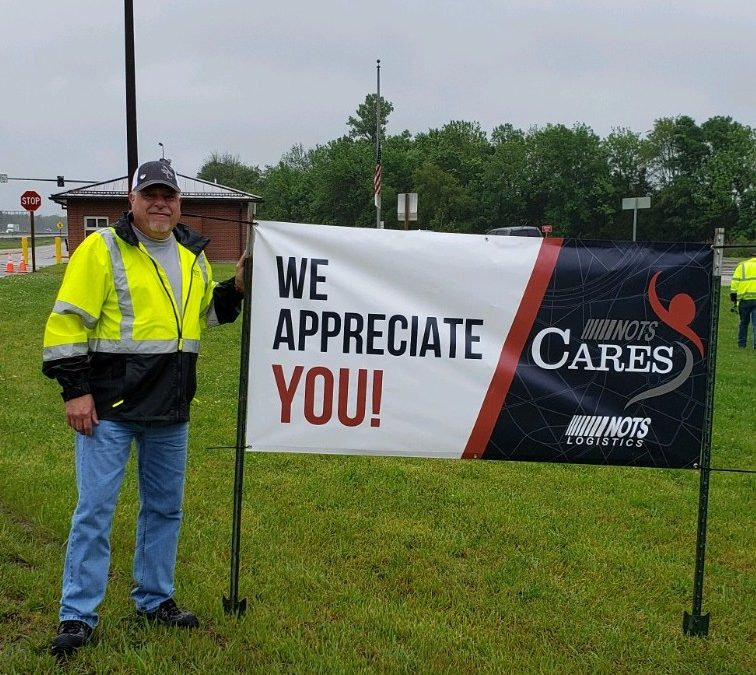 NOTS Logistics Sponsors Sack Lunch Thank You Event