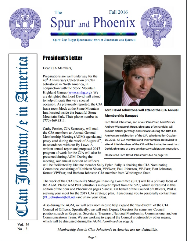 Latest Newsletter & Archive