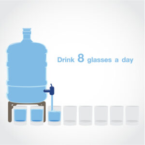 Eight Glasses of Water a Day!