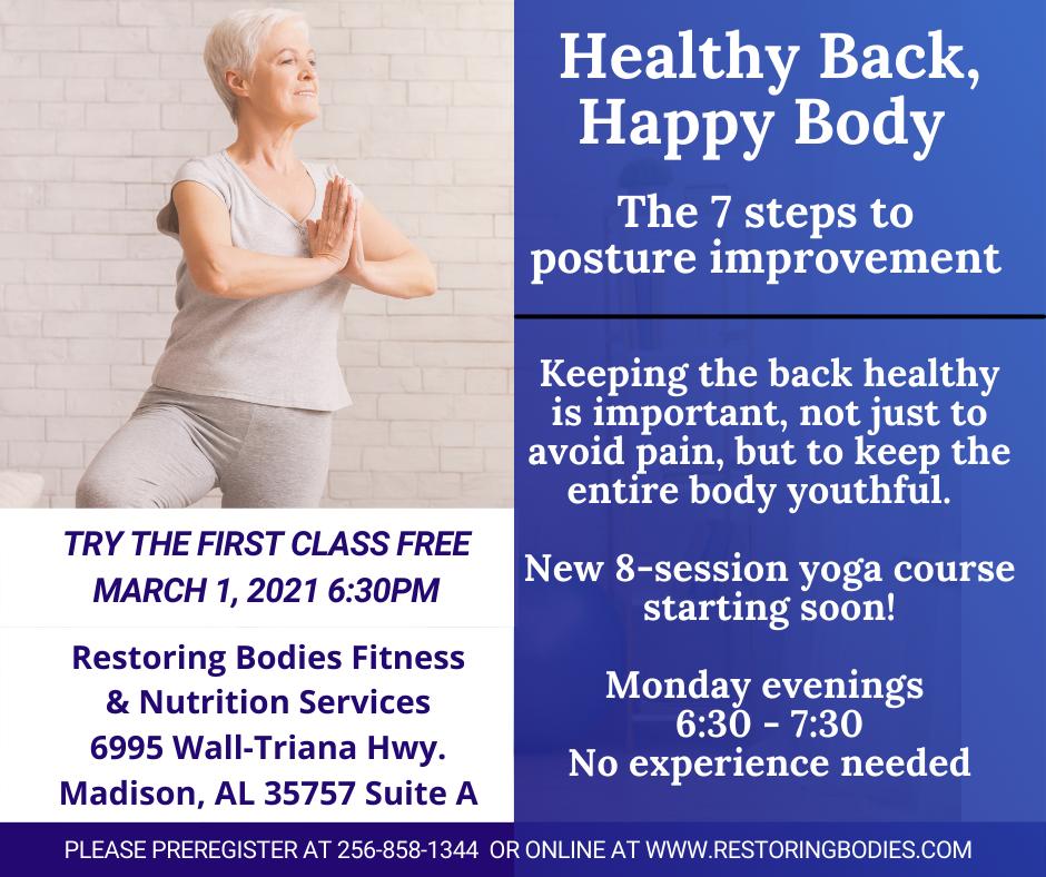 healthy back healthy body