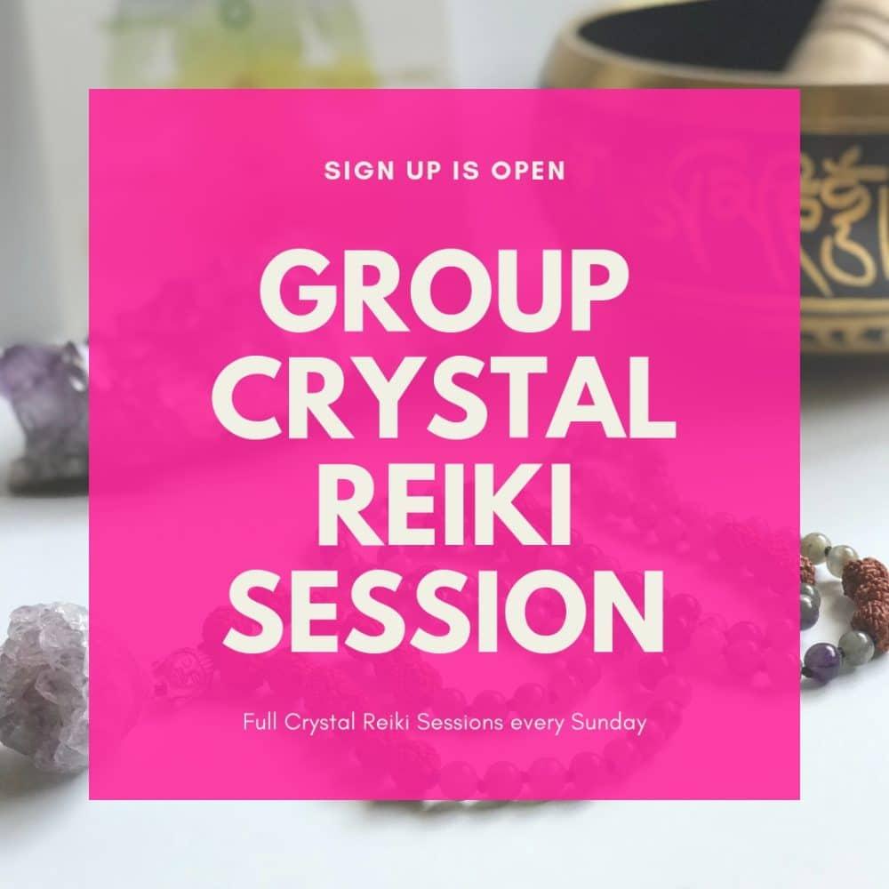 Group Crystal Reiki Session