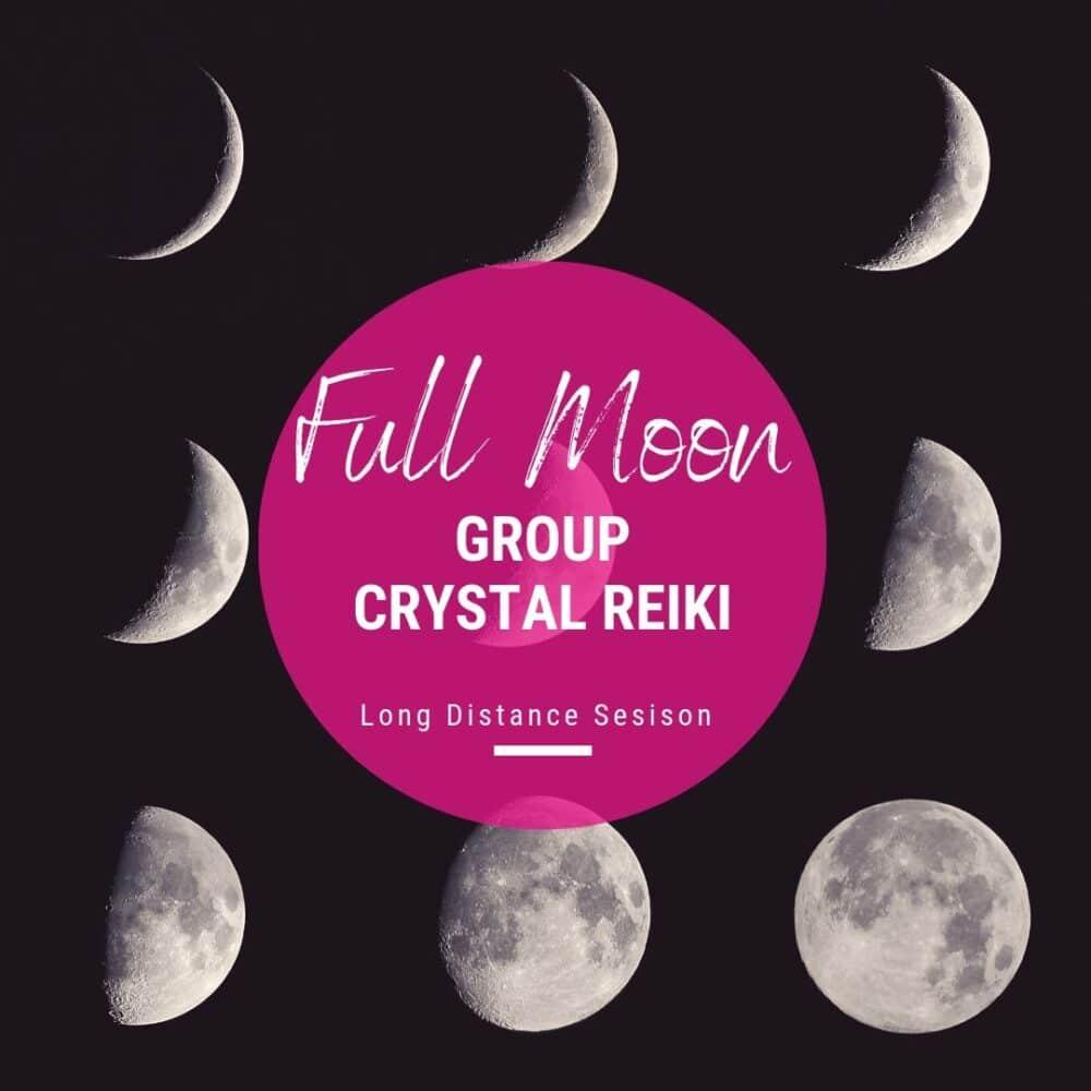 Full Moon Crystal Reiki Moon Phases