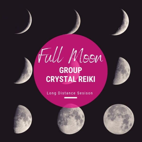 Full Moon Crystal Reiki