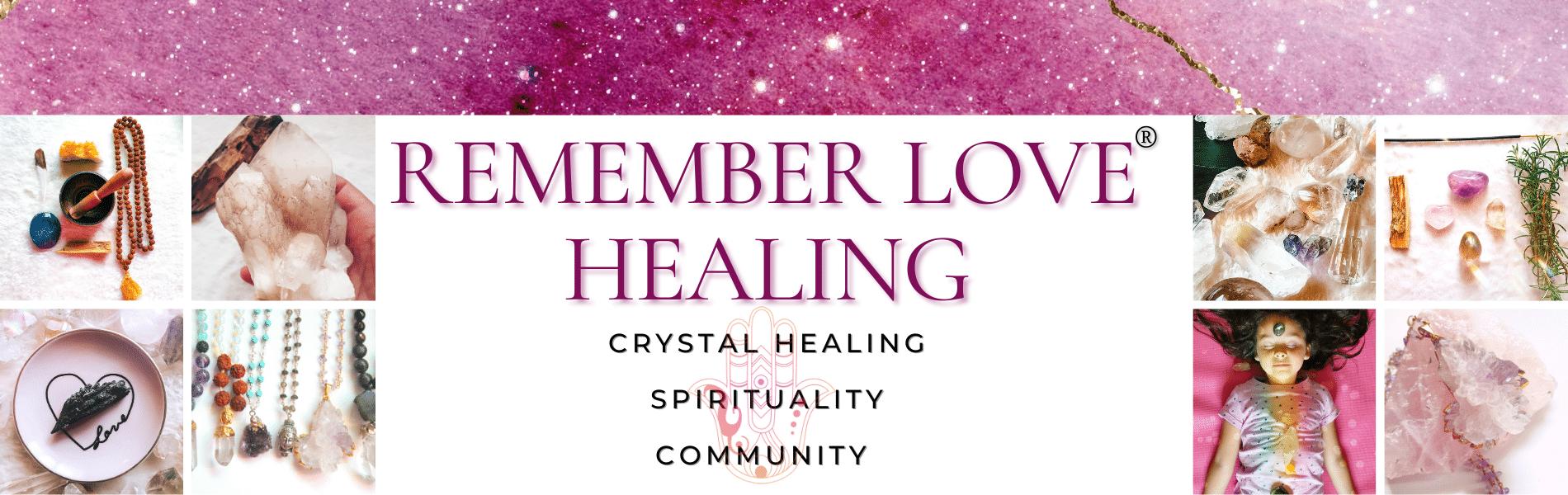 Remember Love Website Banner