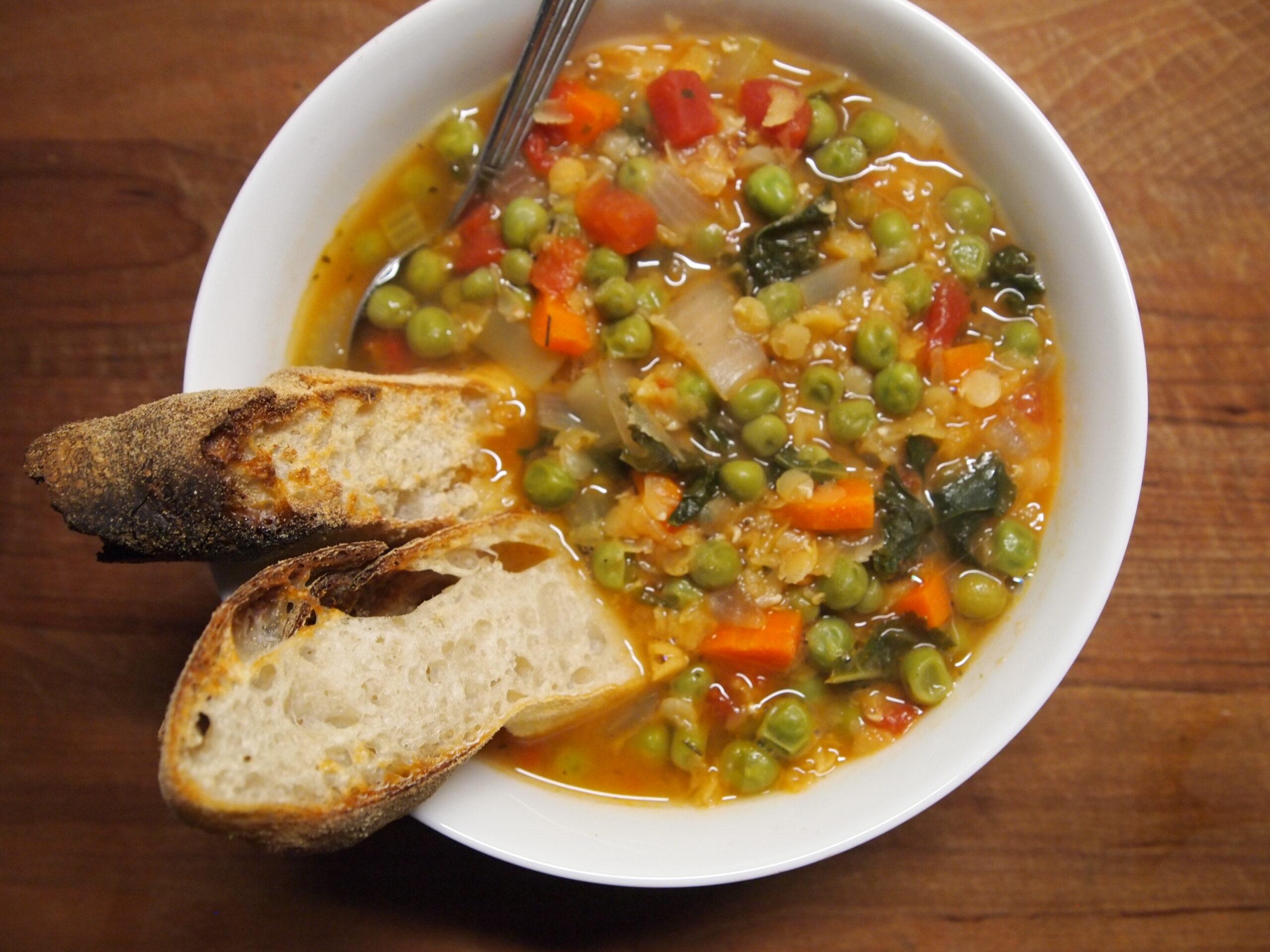 Potato & Lentil Soup