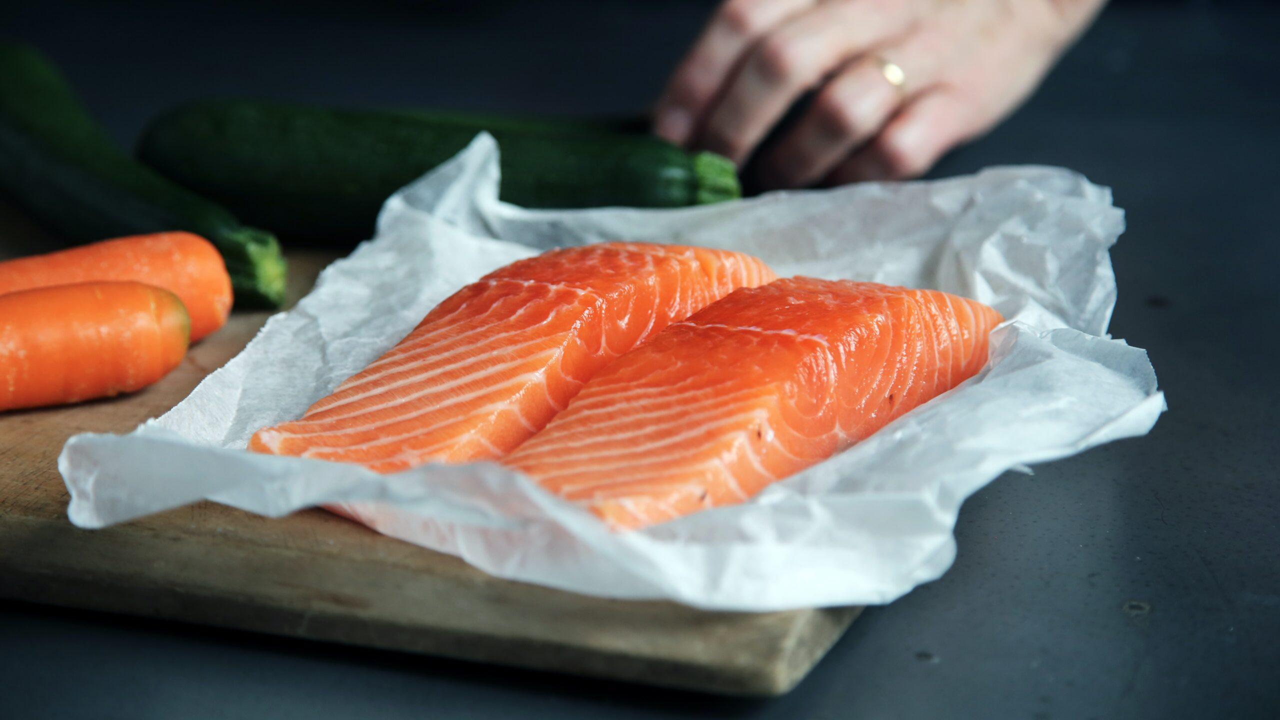 One Pan Teriyaki Salmon