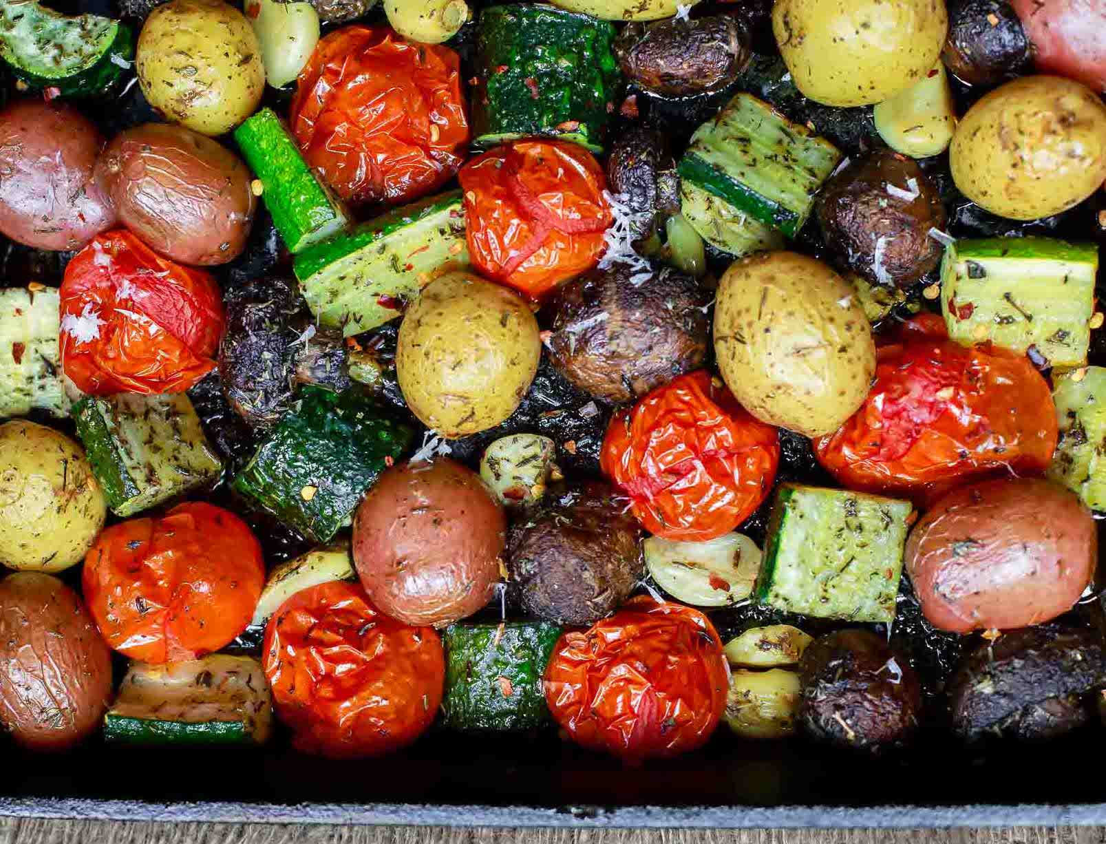 45 Minute Oven-Roasted Vegetables