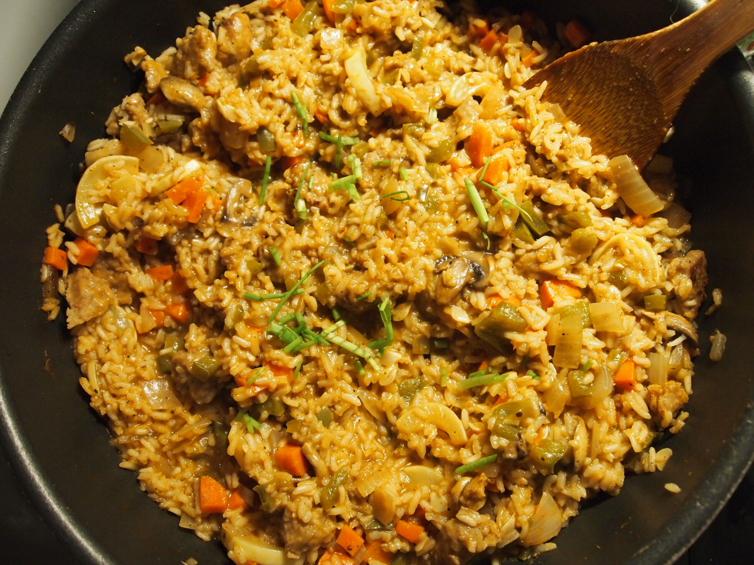 One-Pot Vegetable Rice