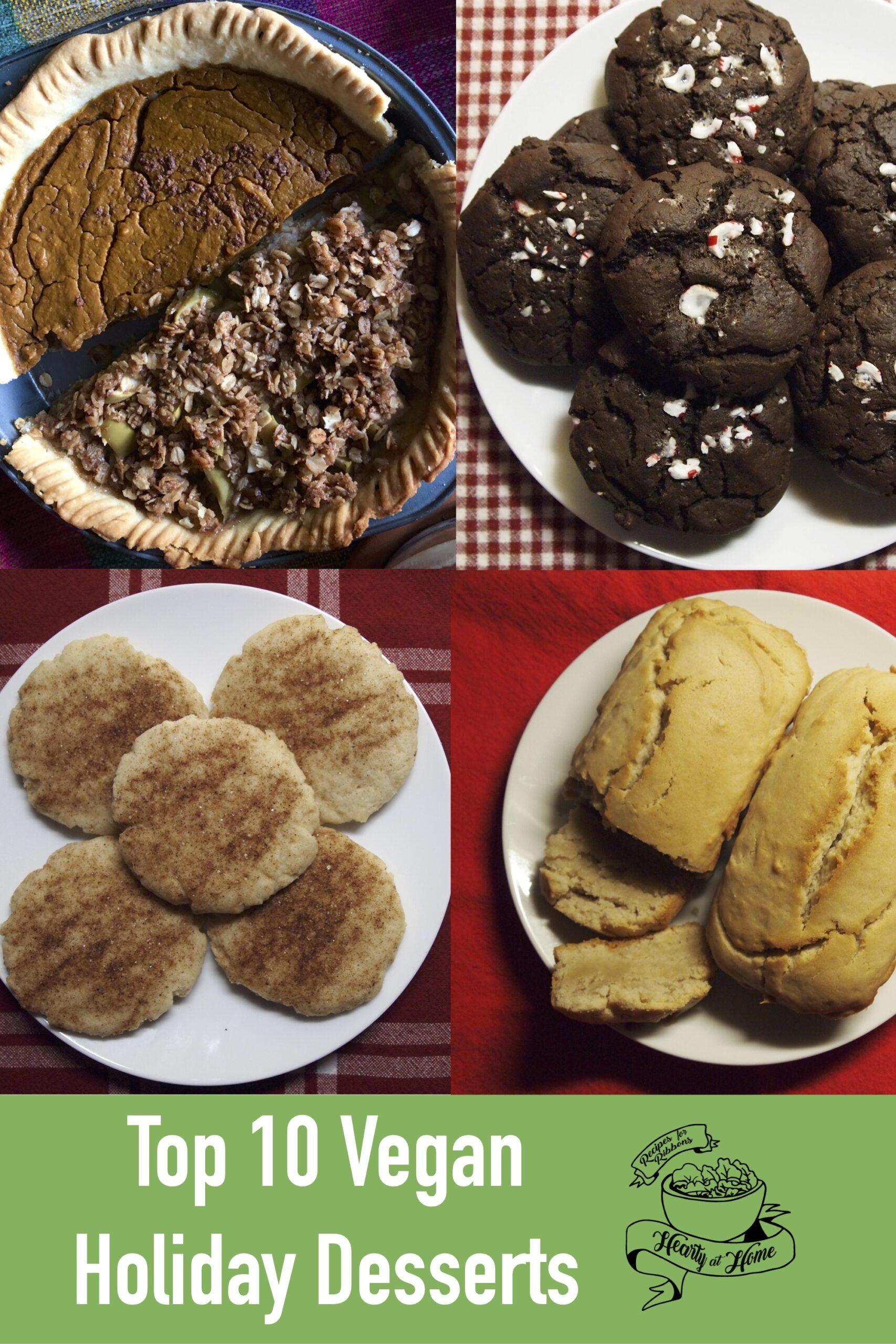 Top 10 Vegan Holiday Desserts
