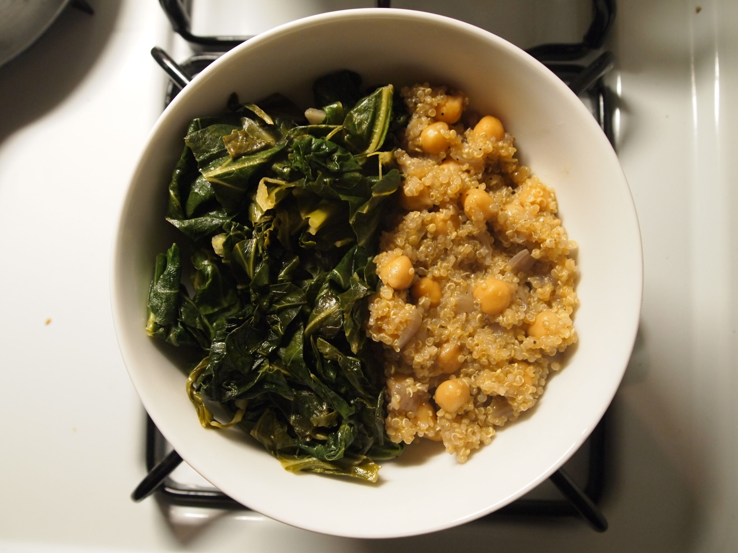 Collards and Pilaf