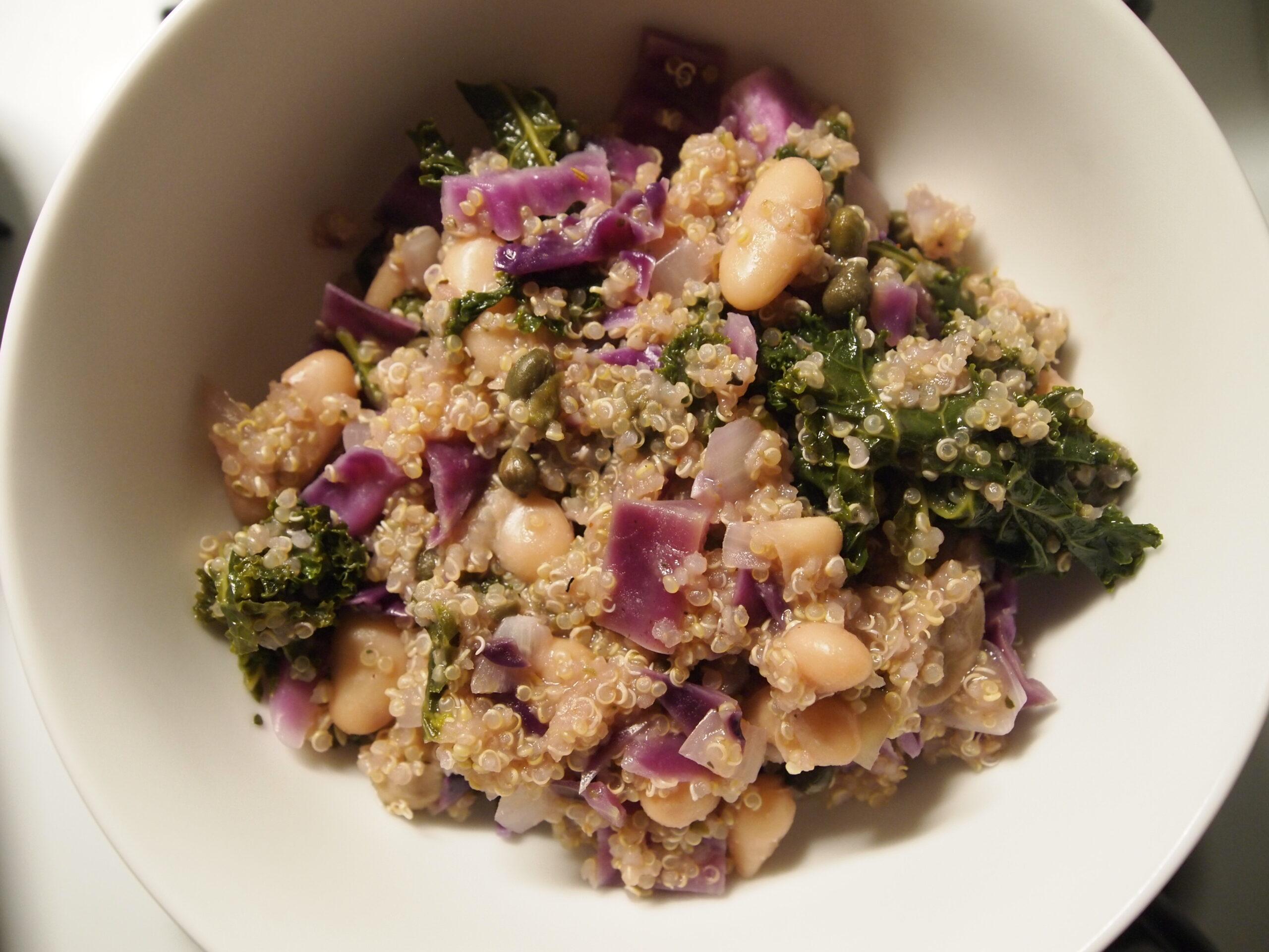 Quinoa & Capers Bowl