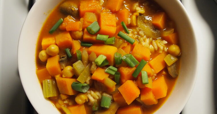 Curried Sweet Potato Stew
