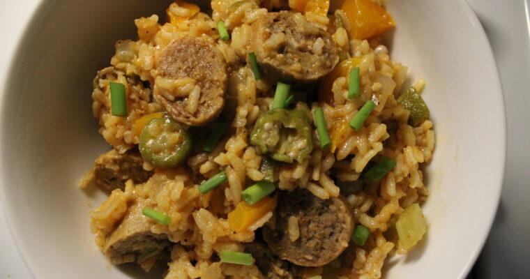 Cajun Rice & Sausage