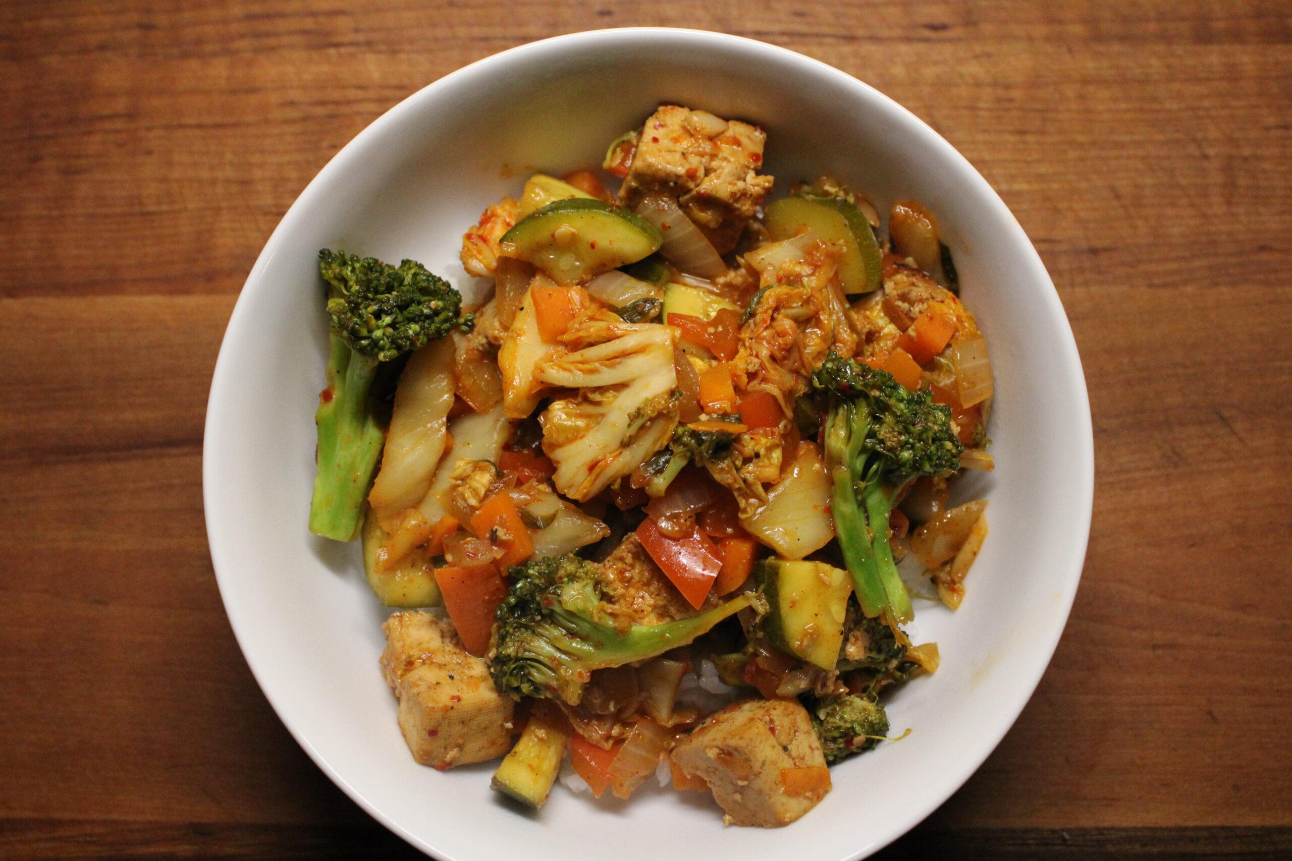 Kimchi Stir-Fry