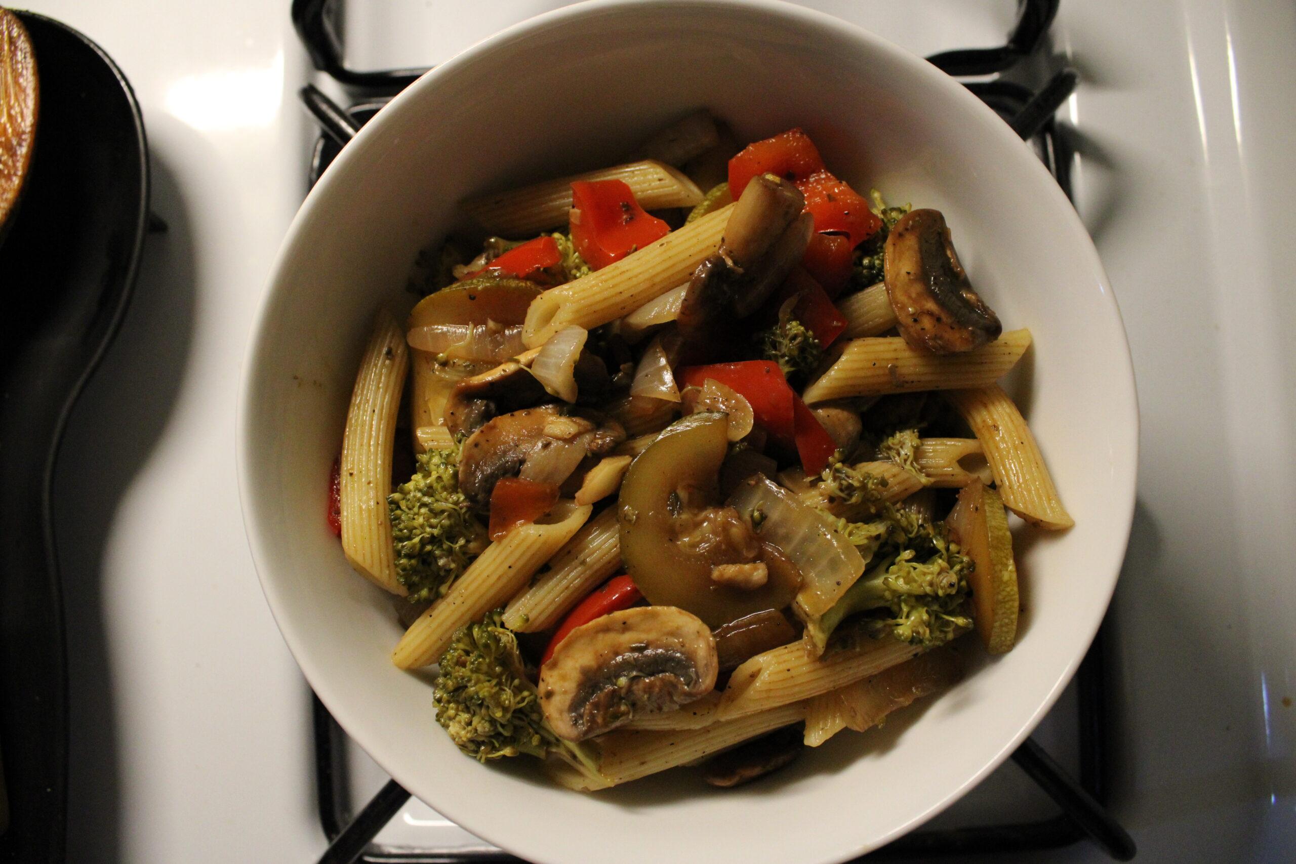 Balsamic Vegetable Pasta