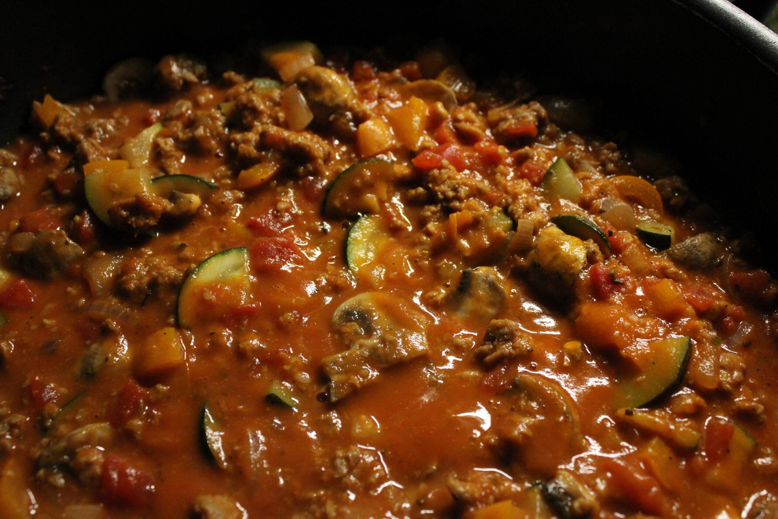 Meatless Pasta Sauce