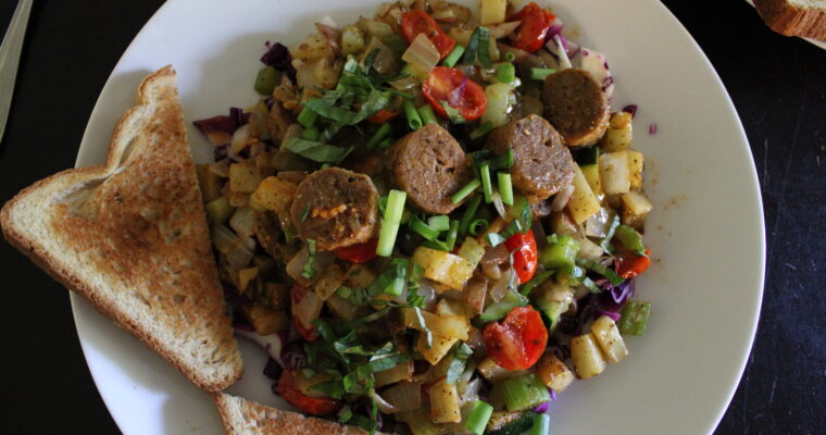 Breakfast Hash with Sausage