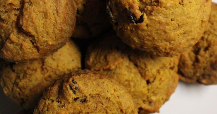 Vegan Morning Glory Muffins